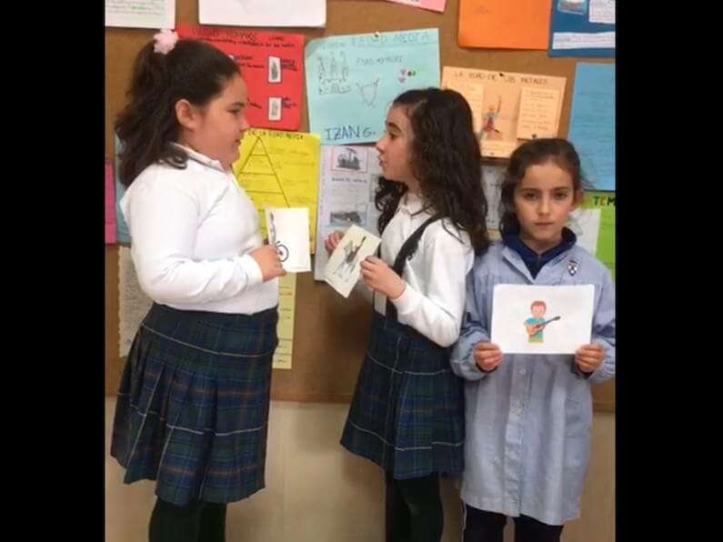 Extraescolares, 2º de Primaria: «Use of verbs whit can and can't»